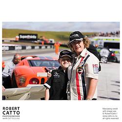 Jan McLaren at the A1 Grand Prix of New Zealand at the Taupo Motorsport Park, Taupo, New Zealand.