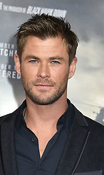 """actor  Chris Hemsworth attend the """"12 Strong"""" World Premiere on January 16, 2018 at Jazz at Lincoln Center in New York City, New York, USA."""