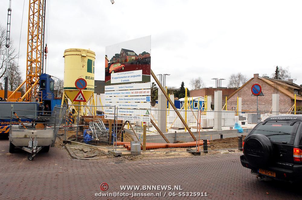 NLD/Huizen/20070403 - Tuinstraat Huizen bouwproject Vooranker