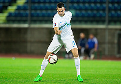 Miral Samardzic of Slovenia during football match between National teams of San Marino and Slovenia in Group E of EURO 2016 Qualifications, on October 12, 2015 in Stadio Olimpico Serravalle, Republic of San Marino. Photo by Vid Ponikvar / Sportida