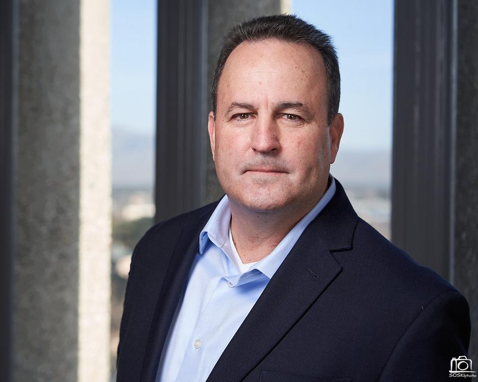 SWENSON Builders CFO Craig Cameron poses for a portrait at SWENSON in San Jose, California, on January 21, 2021. (Stan Olszewski/SOSKIphoto)