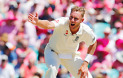 England's Stuart Broad appeals for a wicket during day two of the Ashes Test match at Sydney Cricket Ground.