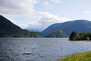 Suldalsvatnet lake, Norway