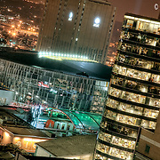 Downtown Kansas City from the Roofs at Night