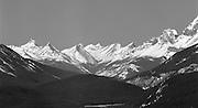 Winter Peaks, Banff National Park