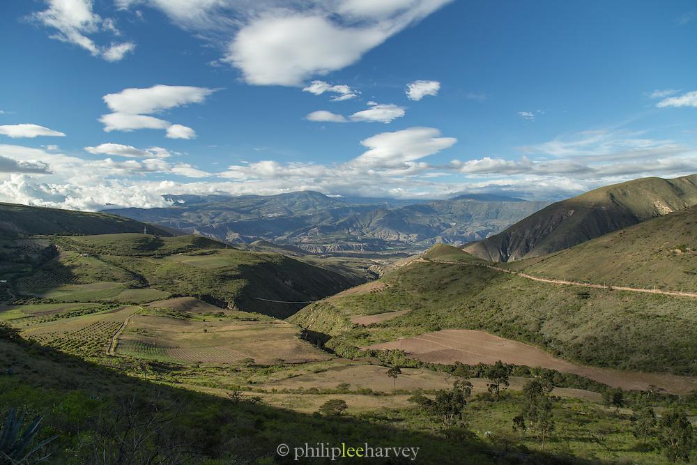 Rural landscape, Imbabura Province, Ecuador, South America