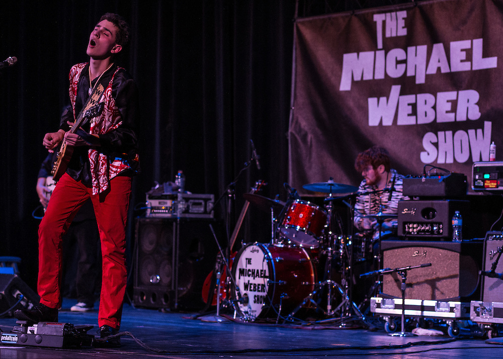The Michael Weber Show at the Akron Civic Theatre at First Night Akron 2017.