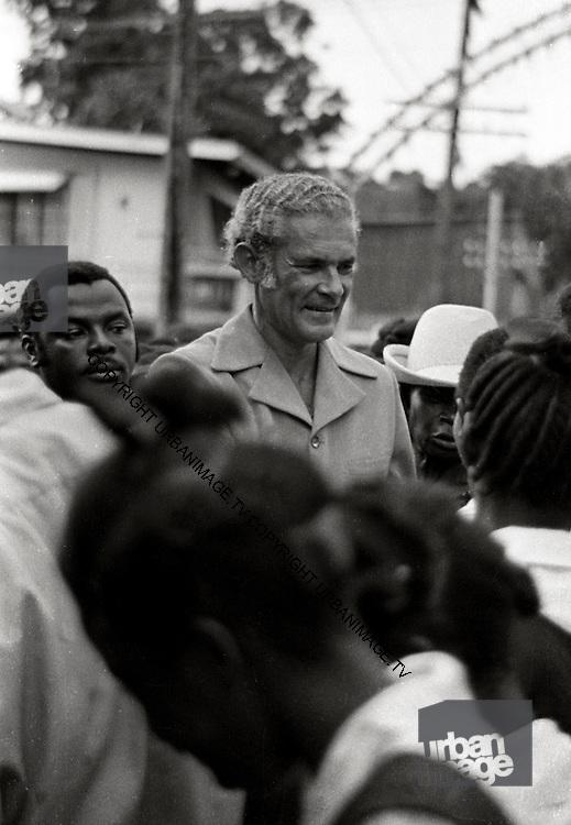 Michael Manley PNP Prime Minister