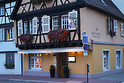 restaurant aux 3 poissons quai de la poissonnerie little venice colmar alsace france