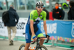 POGACAR Tadej of Slovenia at finish line during Men Elite Road Race at UCI Road World Championship 2020, on September 27, 2020 in Imola, Italy. Photo by Vid Ponikvar / Sportida
