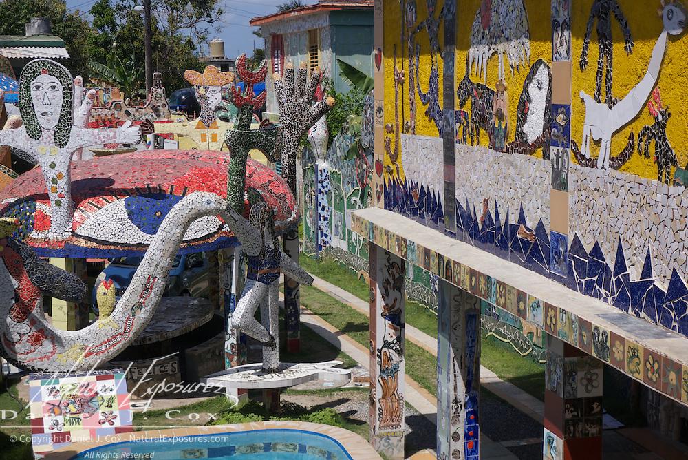 "Jose Fuster's house, ""Picasso of the Caribbean"". Havana, Cuba."