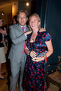 MICHAEL SMITH; COUNTESS DORA DELLA GHEREDESCA, Pimlico Road party. 22 June 2010. -DO NOT ARCHIVE-© Copyright Photograph by Dafydd Jones. 248 Clapham Rd. London SW9 0PZ. Tel 0207 820 0771. www.dafjones.com.