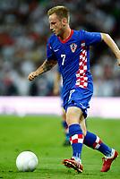 Football<br /> Ivan Rakitic of Croatia<br /> England v Croatia World Cup Qualifying Group Six  <br /> at Wembley Stadium<br /> 09/09/2009 Credit Colorsport / Kieran Galvin