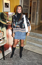 TAMARA MELLON at the launch of MAC's High Tea collection with leading British designers held at The Berkeley Hotel, London on 17th January 2005.  MAC has collabroated with The Berkeley's Pret-a-Portea, which adds a creative twist to th classic elements of the English afternoon tea with cakes and pastries inspired by fashion designs.<br /><br />NON EXCLUSIVE - WORLD RIGHTS