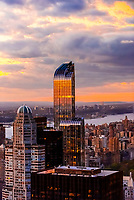 """One57 (157 West 57th Street), known as the """"Billionaire Building"""", New York, New York USA."""