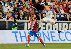 September 1, 2017 - Harrison, NJ, USA - Harrison, N.J. - Friday September 01, 2017:   Michael Bradley during a 2017 FIFA World Cup Qualifying (WCQ) round match between the men's national teams of the United States (USA) and Costa Rica (CRC) at Red Bull Arena. (Credit Image: © John Dorton/ISIPhotos via ZUMA Wire)