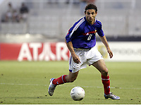 FOOTBALL - UNDER 21 TOULON TOURNAMENT 2005 - FINAL - FRANCE v PORTUGAL - 10/06/2005 - RUDY HADDAD (FRA)<br />