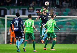 Branko Ilic of Olimpija vs Rok Grudina of Gorica during football match between NK Olimpija Ljubljana and ND Gorica in Round #26 of Prva liga Telekom Slovenije 2016/17, on March 29, 2017 in SRC Stozice, Ljubljana, Slovenia. Photo by Vid Ponikvar / Sportida