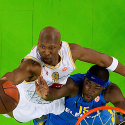 20110217: SLO, Basketball - Euroleague Top 16, Union Olimpija Ljubljana vs Maccabi Tel Aviv