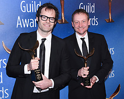 February 17, 2019 - Beverly Hills, California, USA - BILL HADER AND ALEC BERG attends the 2019 Writers Guild Awards Los Angeles Ceremony at The Beverly Hilton Hotel in Beverly Hills, California, (Credit Image: © Billy Bennight/ZUMA Wire)