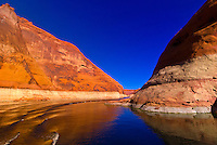 Lake Powell, Glen Canyon National Recreation Area, Arizona/Utah border USA