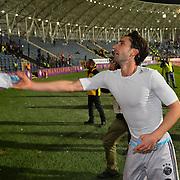 Osmanlispor's and Fenerbahce's during their Turkish Super League soccer match Osmanlispor between Fenerbahce at the Osmanli Stadium in Ankara Turkey on Thursday 29 October 2015. Photo by TVPN/TURKPIX
