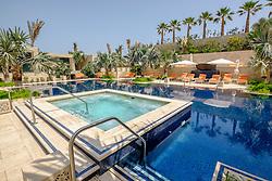 Swimming pool at new luxury  Four Seasons Hotel Bahrain Bay in Manama Kingdom of Bahrain