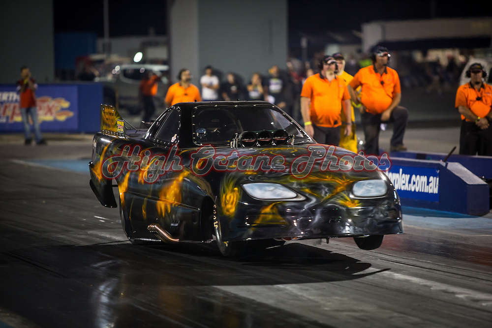 Jack Bowden (2234) - Pontiac Firebird Funny Car - Supercharged Outlaws.