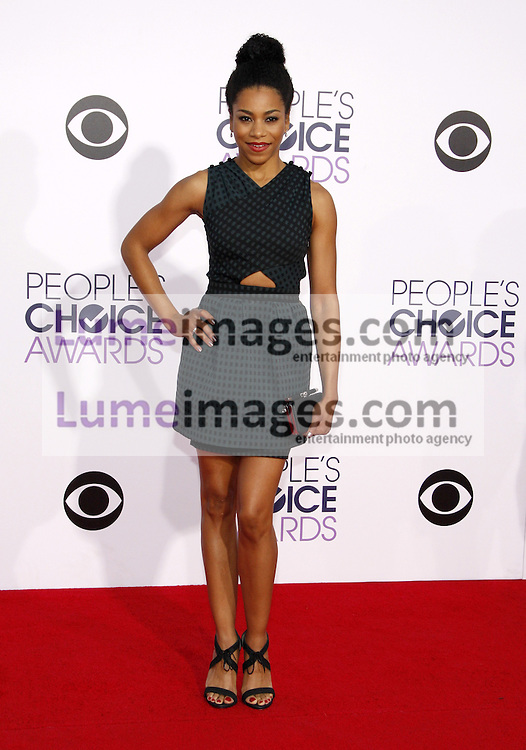 Kelly McCreary at the 41st Annual People's Choice Awards held at the Nokia L.A. Live Theatre in Los Angeles on January 7, 2015. Credit: Lumeimages.com