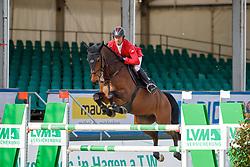 SCHWIZER Pius (SUI), Avenir d´Aiguilly<br /> Hagen - Horses and Dreams meets the Royal Kingdom of Jordan 2018<br /> Qualifikation Youngster Tour<br /> 27 April 2018<br /> www.sportfotos-lafrentz.de/Stefan Lafrentz