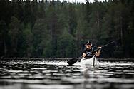 FRÖSÖN 20210714<br /> Paddling i Kungsgårdsviken på Frösön<br /> Foto: Per Danielsson/Projekt.P