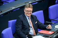 08 DEC 2020, BERLIN/GERMANY:<br /> Michael Grosse-Broemmer, MdB, CDu, Parl. Geschaeftsfuehrer CDU/CSU Fraktion, Haushaltsdebatte, Plenum, Reichstagsgebaeude, Deuscher Bundestag<br /> IMAGE: 20201208-02-030<br /> KEYWORDS: Michael Grosse-Brömmer