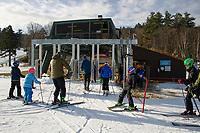 Opening weekend at Gunstock Mountain.  Karen Bobotas for the Laconia Daily Sun