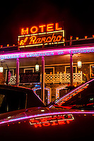 Hotel El Rancho, Route 66, Gallup, New Mexico USA.