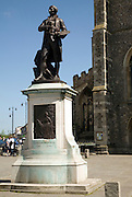 Thomas Gainsborough statue, Sudbury, Suffolk, England