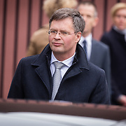 NLD/Rotterdam/20180220 - Herdenkingsdienst Ruud Lubbers, Jan Peter Balkenende