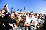 Fans enjoy Lil Yachty at 2018 X Games Norway in Oslo, Norway. ©Brett Wilhelm/ESPN