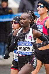 NYC Marathon, Keitany, mile 5