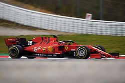February 19, 2019 - Barcelona, Barcelona, Spain - Charles Leclerc of Monaco driving the (16) Scuderia Ferrari Mission Winnow SF90 during day two of F1 Winter Testing at Circuit de Catalunya on February 19, 2019 in Montmelo, Spain. (Credit Image: © Jose Breton/NurPhoto via ZUMA Press)