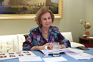 031721 Queen Sofia attends the Annual Board Meeting of the Queen Sofia Spanish Institute