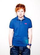 Ed Sheeran musician, photographed at his record label in Kensington