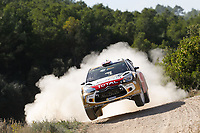 04 Citroen Total Abu Dhabi Wrt, Ostberg Mads, Andersson Jonas, Citroen Ds3 Wrc, Action during the 2014 WRC World Rally Car Championship, rally of Spain from October 23th to 326th, at Salou, Spain. Photo Bastien Baudin / DPPI
