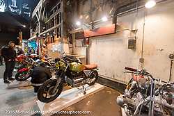 BMW's on display Friday night at the One Show motorcycle show in Portland, OR. February 12, 2016. ©2016 Michael Lichter