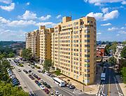 Apartment building in Philadelphia, PA.