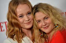 Drew Barrymore and Liv Hewson attend Netflix's 'Santa Clarita Diet' Season 2 Premiere at The Dome at Arclights Hollywood on March 22, 2018 in Los Angeles, California. Photo by Lionel Hahn/AbacaPress.com