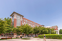Architectural image of Carlyle Gateway Office Building in Alexandria VA by Jeffrey Sauers of CPI Productions
