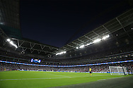a General view of Wembley Stadium before k/o. UEFA Champions league match, group E, Tottenham Hotspur v AS Monaco at Wembley Stadium in London on Wednesday 14th September 2016.<br /> pic by John Patrick Fletcher, Andrew Orchard sports photography.