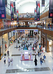 Interior of Dubai Mall in Dubai in United Arab Emirates