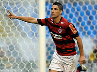 20111009: RJ, BRAZIL -  Football match between Flamengo and Fluminense at Engenhao stadium in Rio de Janeiro. In picture Thiago Neves<br /> PHOTO: CITYFILES