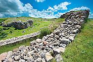 Photo of  the  Palace Walls to the Hittite capital Hattusa 3